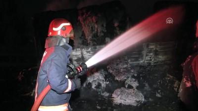 GÜNCELLEME - Anadolu Otoyolu'nda Tır Yangını