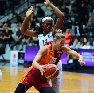 Kadınlar Basketbol Süper Ligi Açıklaması Beşiktaş Açıklaması 91 - Galatasaray Açıklaması 77