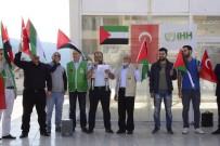 İNSANI YARDıM VAKFı - Karabük'te İsrail Protesto Edildi