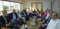 GENÇ GİRİŞİMCİLER - Kaymakam Yücel, Kuşadası Ticaret Odası'nı Ziyaret Etti