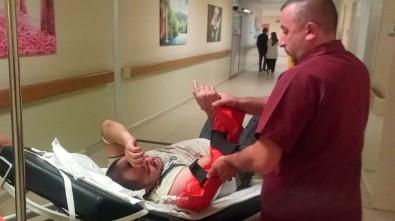 Kolunu Silindire Kaptıran İşçi Yaralandı