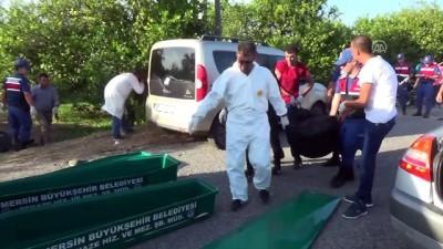Mersin'de Trafik Kazası Açıklaması 2 Ölü, 1 Yaralı