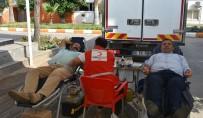 ARIF ABALı - Mersin İl Tarım Müdürlüğü'nden 'Kan Bağışı' Kampanyasına Destek