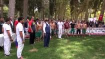 HÜSEYIN KALAYCı - Nusaybin'de '1. Karakucak Güreşleri Ve Flyboard Gösterileri'