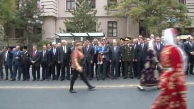 Seğmenlerden Ankara Kalesi'ne Kortej Yürüyüşü