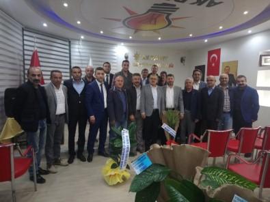 Şıhlı Derneği AK Parti Develi İlçe Başkanı Turan'ı Ziyaret Etti