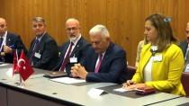 SUDAN - TBMM Başkanı Yıldırım İsviçre'de Sudan Meclis Başkanı Ve Heyetiyle Görüştü