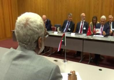 TBMM Başkanı Yıldırım Sudan Meclis Başkanı İle Görüştü