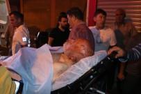 Yangında Mahsur Kalan Yaşlı Adamı İtfaiye Kurtardı