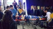 Askeri Araç Devrildi Açıklaması 4 Yaralandı