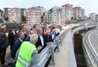 Bakan Turhan, Trabzon'daki Ulaşım Yatırımlarını İnceledi