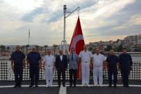 SAHİL GÜVENLİK - Bakan Yardımcısı Ersoy, Kuşadası Sahil Güvenlik Komutanlığında İncelemelerde Bulundu