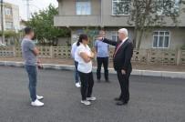 YEŞILTEPE - Başkan Yüksel, Oğuzhan Caddesi'nde Tamamlanan Çalışmaları İnceledi