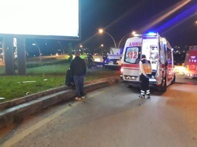 Başkent'te Trafik Kazası Açıklaması 3 Yaralı