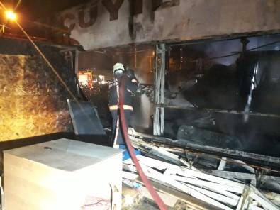 Ankara'da benzinlikte yangın