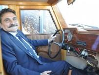 BİRİNCİ SINIF - Çamlıdere Belediye Başkanı çamdan klasik makam aracı yaptırdı