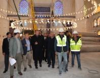 HATIRA FOTOĞRAFI - Cumhurbaşkanı Erdoğan, Çamlıca Camii'nde İncelemelerde Bulundu