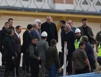 ÇAMLıCA - Cumhurbaşkanı Erdoğan, Çamlıca Camisi'nde incelemelerde bulundu