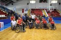ENGELSİZ SANAT - Eski Milli Basketbolculardan Engellilere Anlamlı Destek