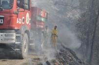 KUZUCULU - Hatay'da Orman Yangını Sürüyor