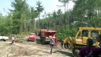 KUZUCULU - Hatay'daki Orman Yangını