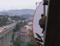 TRAFİK YOĞUNLUĞU - 15 Temmuz köprüsünde intihar girişimi!