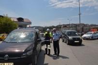 Alaplı'da 715 Sürücüye 21 Bin Lira Ceza