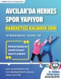 AVCILAR BELEDİYESİ - Avcılar'da Vatandaşlarla Birlikte Egzersiz Programı