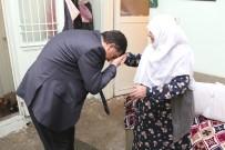 RıDVAN FADıLOĞLU - Başkan Fadıloğlu'nun Ziyareti Hayriye Teyzeyi Sevindirdi