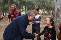 KAYALı - Başkan Kayalı Belediye Personeliyle Piknikte Buluştu