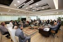 MEHMET KARTAL - Başkan Yaşar, Demetevler Esnafını Ağırladı