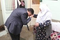 RıDVAN FADıLOĞLU - Fadıloğlu'nun Ziyareti 85 Yaşındaki Hayriye Güzelcecan'ı Sevindirdi