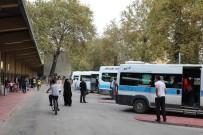 YOLCU TAŞIMACILIĞI - Gar Meydanı Minibüsleri Yeni Yerinde