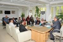 NASREDDIN HOCA - Görme Engelli Öğrencilerden Başkan Akkaya'ya Ziyaret