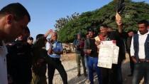 OTURMA EYLEMİ - Han El-Ahmer'de Gergin Bekleyiş