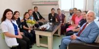 SAĞLIK ÖRGÜTÜ - İl Sağlık Müdürü Bilge, Palyatif Bakım Hastalarını Ziyaret Etti