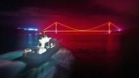 AHMET YAVUZ - (Özel) İstanbul Boğazı'nda Film Sahnelerini Aratmayan 'Balık' Denetimi