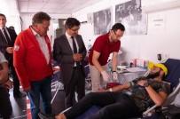 ŞEYH EDEBALI - Üniversite Öğrencilerinden Rekor Kan Bağışı