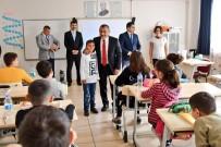 ALI TÜRKER - Vali Sonel, Okul Ziyaret Etti Çocukların İsteklerini Yerine Getirdi