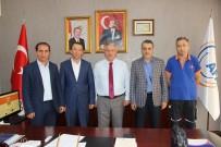 HATIRA FOTOĞRAFI - AFAD-SEN Genel Başkanı Çelik'ten İzmir Ziyareti