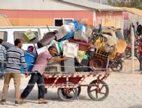 SIĞINMACILAR - Akçakale Kampında Suriyelilerin Tahliyesi Başladı