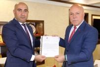 HAYDAR ALİYEV - Azerbaycan Dışişleri Bakanı Memmedyarov'dan Başkan Sekmen'e Teşekkür Mektubu