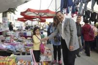 ALıŞVERIŞ - Başkan Ataç Pazar Ziyaretlerine Devam Ediyor