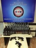 Bolu'da, Kaçak İçki Operasyonu Açıklaması 2 Gözaltı