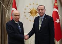 DEVLET BAHÇELİ - Erdoğan-Bahçeli görüşmesi sona erdi