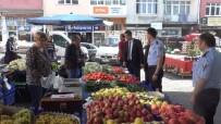 ALıŞVERIŞ - Karabük Belediyesi Zabıta Ekiplerinden Pazar Yerlerinde Etiket Denetimi