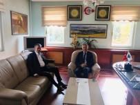 MUSTAFA AKıN - Kaymakam Akın'dan Belediye Başkanı Şentürk'e Ziyaret