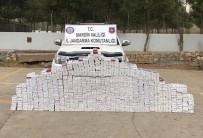 İL JANDARMA KOMUTANLIĞI - Mardin'de 8 Bin 434 Paket Kaçak Sigara Ele Geçirildi