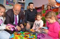 EĞİTİM HAYATI - Minikler Başkan Amcalarıyla Oyun Oynadı