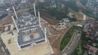 ÇAMLıCA - (Özel) İnşaatında Sona Gelinen Çamlıca Camii'nde Yapılan Çevre Düzenleme Çalışmaları Havadan Görüntülendi